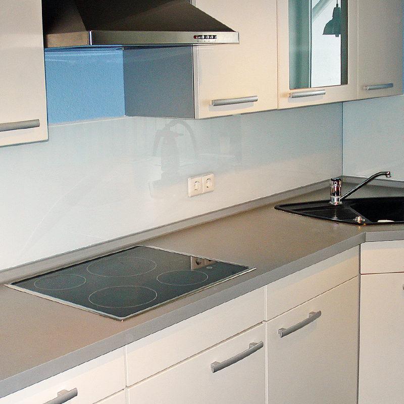 Küchenrückwand Lacobel Pure White