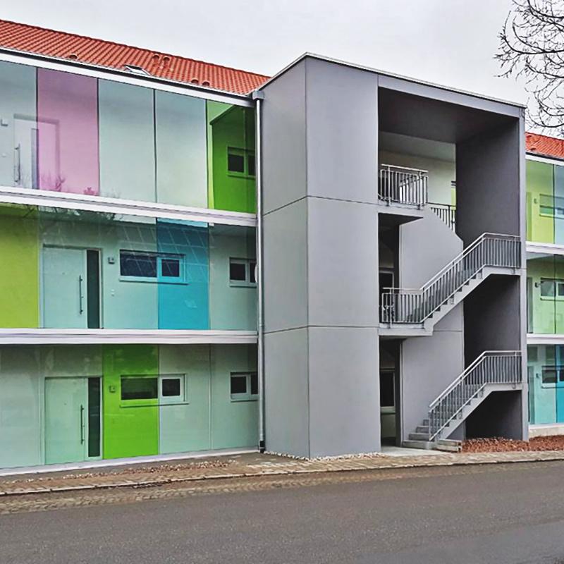 Windschutzverglasungen mit VSG mit farbiger Folie